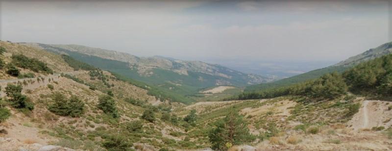 ruta en moto por madrid