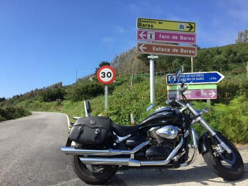 ruta en moto por galicia