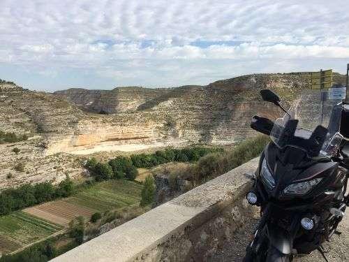 ruta en moto jorquera