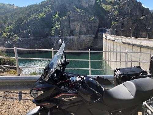 ruta de los pantanos en moto