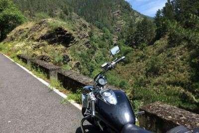 ruta en moto por oscos